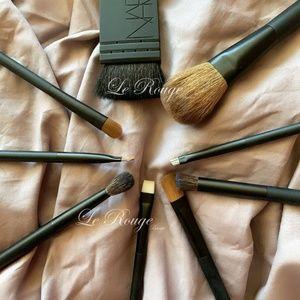 nars brush bundle set lot of 9 pcs new never used